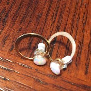 Jewelry - NWOT Quartz earrings